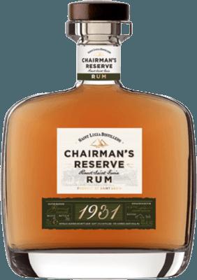 Chairman's Reserve 1931 rum