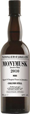 Monymusk 2010 MBS 9-Year rum