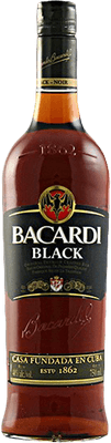Medium bacardi black rum