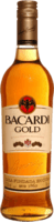 Small bacardi gold rum