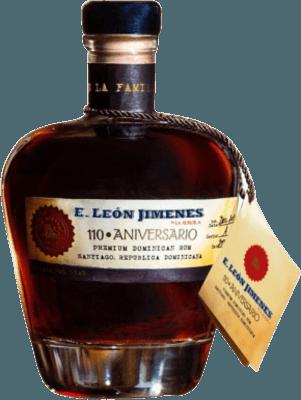 E. León Jimenes 110th Anniversary rum