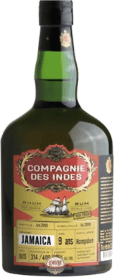 Compagnie des Indes 2009 Jamaica Hampden High Proof 9-Year rum
