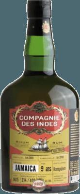 Compagnie des Indes 2009 Jamaica Hampden High Proof 9-Year rum