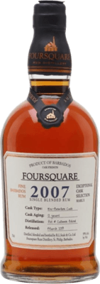 Foursquare 2007 12-Year rum