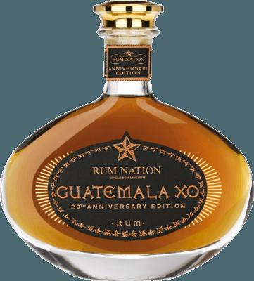 Rum Nation Guatemala XO 20th Anniversary rum