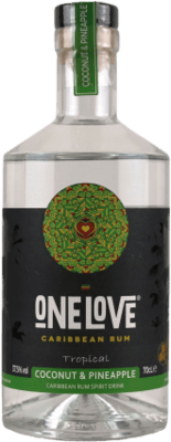 One Love Tropical Coconut & Pineapple rum