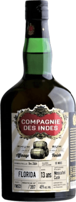 Compagnie des Indes Florida Moscatel Finish 13-Year rum