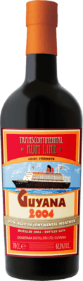 Transcontinental Rum Line 2004 Guyana rum