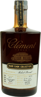 Clement 2002 Rare Cask Collection Robert Peronet 15-Year rum