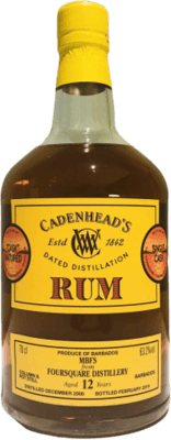 Cadenhead's 2006 Foursquare Single Cask 12-Year rum