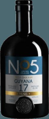 EKTE 1995 No 5 Guyana 17-Year rum