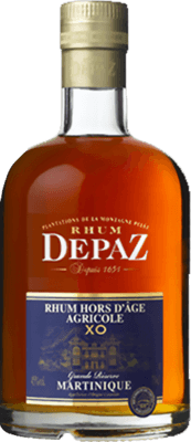 Depaz Grande Reserve XO Blue Label 8-Year rum