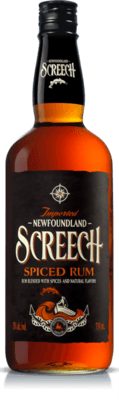 Medium newfoundland screech spiced