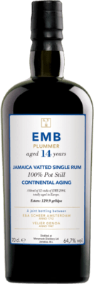 Monymusk 2004 Emb Plummer Continental Aging 14-Year rum