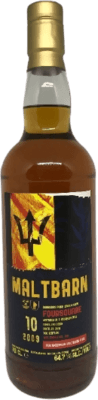 Foursquare 2009 Single Cask Released by Maltbarn 10-Year rum