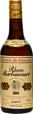 Barbancourt Reserve du Domaine 15-Year rum