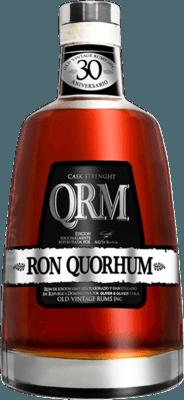 Quorhum Cask Strength 30-Year rum