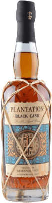 Plantation Black Cask Barbados Fiji rum
