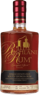 Richland Single Estate Old Georgia Cask Strength rum