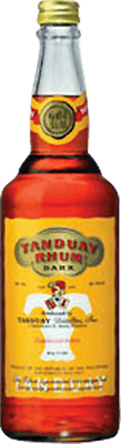 Medium tanduay dark rum