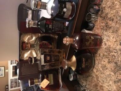 Medium rum bottles 2021
